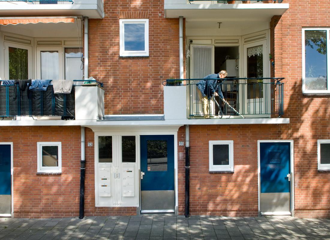 Amsterdam, 14 mei 2012, Balkonserie, Via Nova, Vreugde in Slotervaart,
