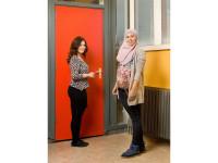 Amsterdam, 16 februari 2012, Calvijn met Junior College, leerling, coach, portretten.