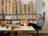 08/15 Christiaan Maats, bedenker en ondernemer van: OAT Shoes  biologisch afbreekbare schoen met zaadjes in de zool.